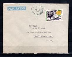 Cote Des Somalis - YV 284 Seul Sur Lettre De 1953 - Lettres & Documents