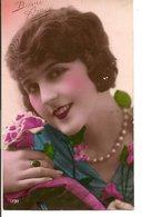 L60b151 - Bonne Année - Portrait De Femme  - RIF N°1731 - New Year