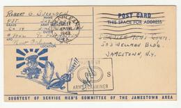 "WW2, US Anti-Japanese Propaganda Postal Stationery Propaganda ""passed By Us Army Examiner"" Posted 1943 New Orleans Pmk - Militaria"