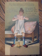 Humoristique Femme Chasse Les Morpions Pot De Chambre  Illustrateur - Moda