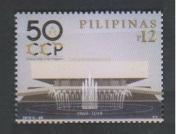 Filippine Philippines Philippinen Pilipinas 2019 Cultural Center Of The Philippines (CCP), 50th Anniversary - MNH** - Filippine