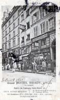 CPA - PARIS 10éme Arrdt. -  Grand HOTEL  BRADY  - Magasin Laissés Pour Compte Des Grands Bottiers...Chaussures - Arrondissement: 10