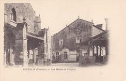 Vendée - Foussais - Les Halles Et L'Eglise - France