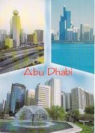 Asie -Emirats Arabes Unis United Arab Emirates Views Of ABU DHABI Capital  (Abou Dabi) Timbre Stamp United Arab Emirates - Emirats Arabes Unis