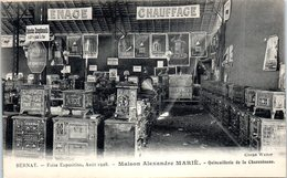 27 BERNAY - Maison Alexandre Marié - Quincaillerie De La Charentonne - Foire Exposition - Renaudat à Reims - Bernay