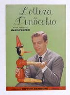 Spartito - Johnny Dorelli - Lettera A Pinocchio - Canto, Mandolino - Ed. 1959 - Vecchi Documenti