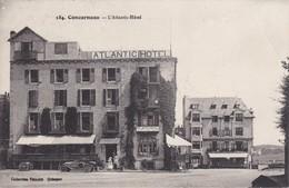 CONCARNEAU - L'Atlantic Hôtel - Voiture - Animé - Concarneau