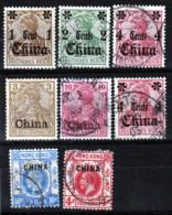 LOT 16  TIMBRES DE CHINE SURCHARGÉS- OCCUPATION ALLEMAGNE- FRANCE- ANGLETERRE- QUELQUES NEUFS AVEC CHARNIERE-2 SCANS - Hong Kong (1997-...)