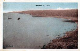 CPA -  LANVEOC  (29)  La Cale - France
