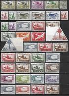 Colonies Françaises D'Afrique 1926-1945  Poste Et Poste  Aérienne 51 Timbres **  (MNH) - Côte Maury : 46 Eur - Timbres