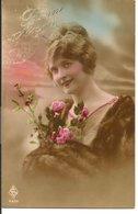 L60b157 - Bonne Année - Portrait De Femme Avec Une Belle Fourrure -  ARS N°4335 - New Year
