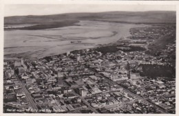 25365Durban, Aerial View Of City And Bay. (photo Card)(left Top Little Crease) - Afrique Du Sud