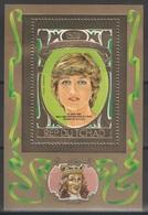 Tchad - Bloc - BF - YT ?? ** MNH - 1982 - Lady Diana - Ciad (1960-...)