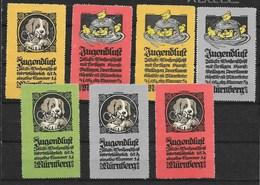 Jugendluft - Nürnberg - Reclame Voor Tijdschrift - Hond Kippen - Erinnofilia