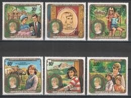 Tchad - YT 399A-399D + PA 238-239 ** MNH - 1982 - Lady Diana - Ciad (1960-...)