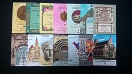 Lot De 21 Carnets De La Croix -rouge (de 1963 A 1983 ) Pas De Trace De Charnières . - Collections