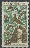 Monaco 1972 - N° 868 - 150ème Anniversaire De La Naissance De Jean De La Fontaine - Oblitéré -* - Used Stamps