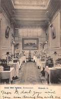 CPA -  Belgique, OSTENDE / OOSTENDE, Grand Hotel Fontaine, Restaurant, 1905 - Oostende
