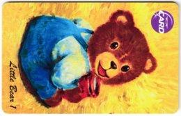 THAILAND F-369 Chip TOT - Toy, Teddy Bear - Used - Thaïland