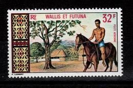 Wallis Et Futuna - YV PA 34 N** Hippisme - Luftpost