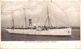 Union Castle Line S.S. Goorkha, Passagierschiff - Paquebote