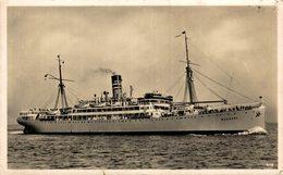 Dampfer Wangoni GERMAN EAST AFRICA LINE DEUTSCHE OST AFRIKA LINIE - Paquebote