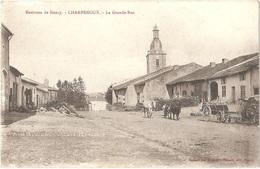 Dépt 54 - CHAMPENOUX - La Grande-Rue - (Éditeur : Maison Des Magasins Réunis, édit., Nancy) - Other Municipalities