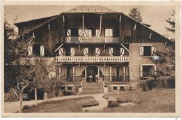 """74 SAINT GERVAIS LES BAINS - """"JEAN - LOU"""" - Maison D'Enfants (trace De Papier Collé Au Dos) - Saint-Gervais-les-Bains"""