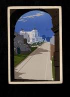 Cartolina Dipinta A Mano ARS NOVA -  Roma Via Dell'Impero - Pubblicitari