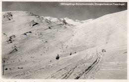 HOLLENGEBIRGS-SELLSCHWEBEBAHN-UBUNGSWIESEN AM FEUERKOGEL-1937-REAL PHOTO - Attnang-Pucheim