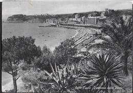 LIGURIA - CELLE LIGURE - PANORAMA - VIAGGIATA 1956 - Autres Villes