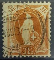 SWITZERLAND 1882/1904 - Canceled - Sc# 88b - 3Fr - Gebruikt