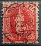 SWITZERLAND 1903 - Canceled - Sc# 97 - 1Fr - Usati