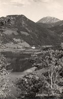 LUNZERSEE MIT OSTCHER-REAL PHOTO-1956 - Lunz Am See