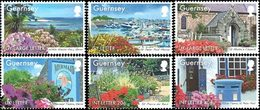 GUERNESEY Guernsey En Fleurs 6v 2014  Neuf ** MNH - Guernsey