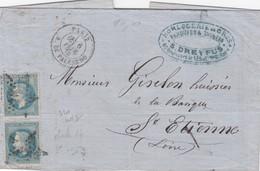 LETTRE PARIS  / 1 - Postmark Collection (Covers)