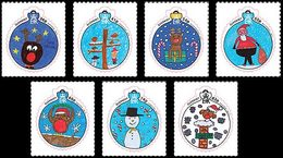 GUERNESEY Noël 2014 7v (boules)  Neuf ** MNH - Guernsey