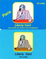 2 Cartes Prépayées Liberty Card 120U Différentes - Frankrijk