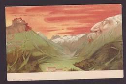 CPA Killinger Montagne Art Nouveau Surréalisme Montage Non Circulé N° 101 - Mechanical