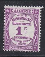 ALGERIE  :  Y Et T  Taxe  19   Neuf XX  Cote 23 € - Segnatasse