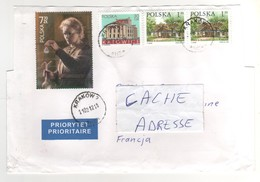 Beaux Timbres , Stamps  Sur Lettre , Enveloppe , Cover , Mail Du 21/02/2012 , Attention : Enveloppe Découpée - 1944-.... Repubblica