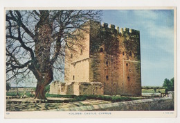 CYPRUS KOLOSSI CASTLE  POSTCARD - Chipre