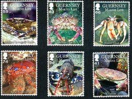 GUERNESEY Faune Marine II Crustacés 6v 2014 Neuf ** MNH - Guernsey
