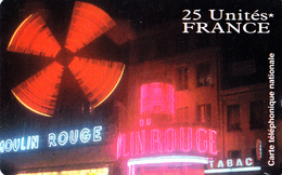 Carte Prépayée ATelecom Le Moulin Paris 25U Unscratch - Rare - Frankrijk