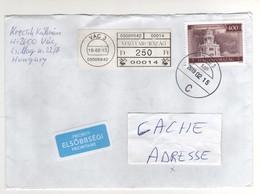 Beaux Timbres , Stamps  Sur Lettre , Enveloppe , Cover , Mail Du 19/02/2015 Pour La France - Hongrie