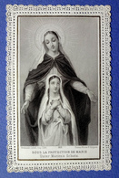IMAGE RELIGIEUSE .... CANIVET....ED. BOUASSE LEBEL....SOUS LA PROTECTION DE MARIE - Devotion Images
