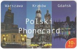 AUSTRIA F-897 Prepaid  - Landmarks Of Poland - Sample - Oesterreich