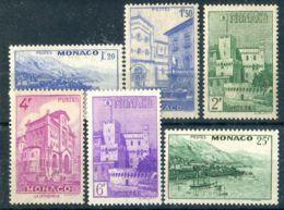 MONACO ( POSTE ) : Y&T  N°  275/280  TIMBRES  NEUFS   SANS  TRACE  DE  CHARNIERE , A  SAISIR . - Nuovi