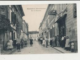 31 MONTASTRUC RUE DE NEMOURS CPA BON ETAT - Montastruc-la-Conseillère