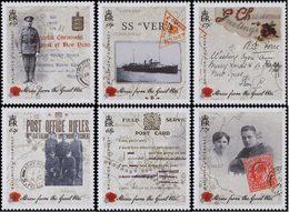 GUERNESEY Histoires De La Gde Guerre 6v 2015 Neuf ** MNH - Guernsey